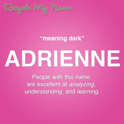 meaningofadrienne